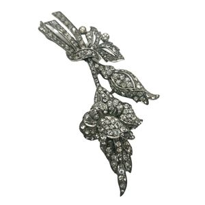 Antique CIRO England articulated sterling brooch
